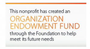 This nonprofit has created an Organization Endowment Fund through the Columbus Foundation.